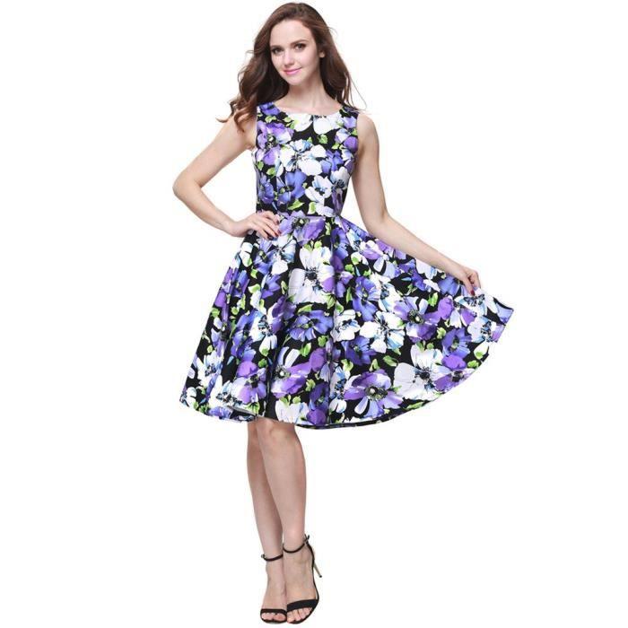 Craze court mini robe par (coton, mi-cuisse, col haut) V38MM