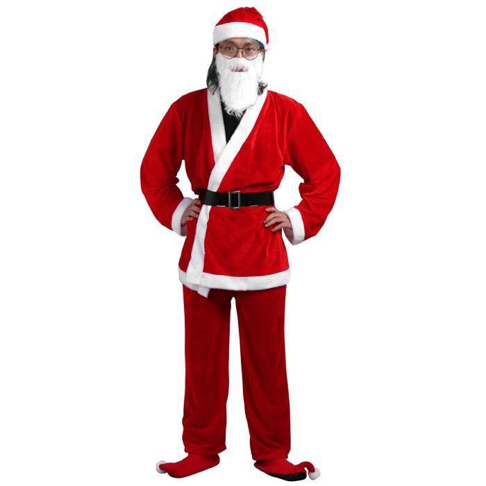 0993bc1247165 Costume de pere noel de luxe - Achat   Vente jeux et jouets pas chers