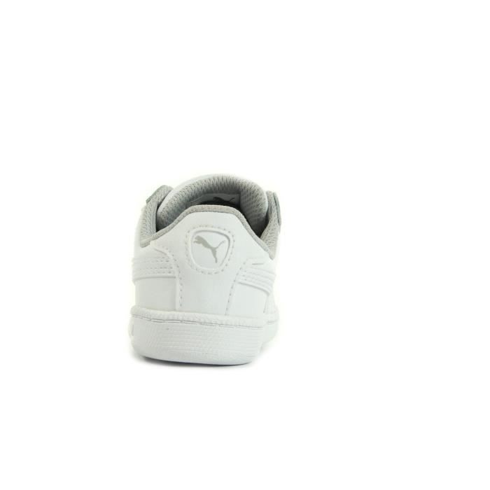 Baskets Puma Smash FUN L V Inf Blanc bGeFct