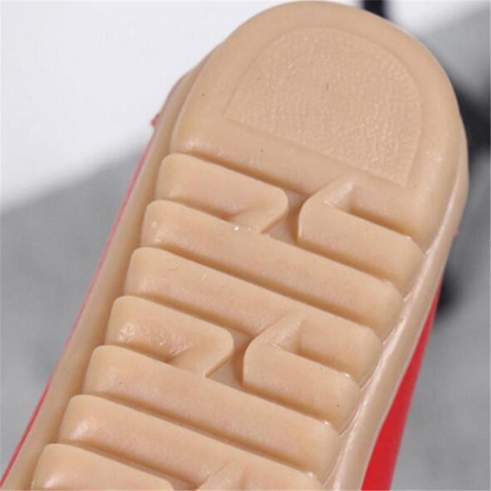 Mocassin Femmes Talon plat Leger Chaussure LKG-XZ049Rouge39