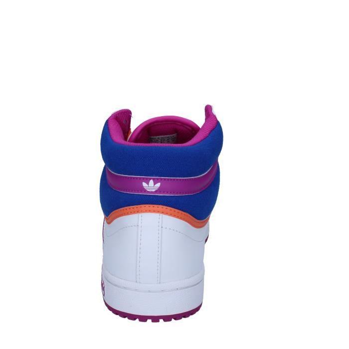Femme Baskets Adidas Chaussures Bz400 Cuir Blanc qEqfxO5vw