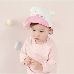 a222f11a6d86 ... CASQUETTE Mignon bébé chat de bande dessinée Chapeau enfants. ‹›