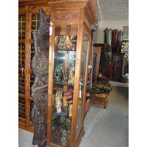 vitrine colonne achat vente pas cher. Black Bedroom Furniture Sets. Home Design Ideas