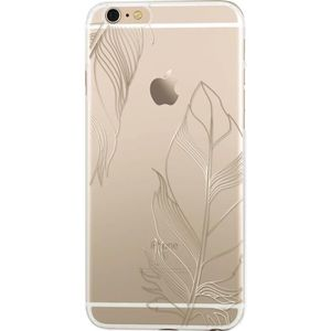 BIGBEN CONNECTED Coque Semi-Rigide Iphone 6 / 6S Plumes - Gold