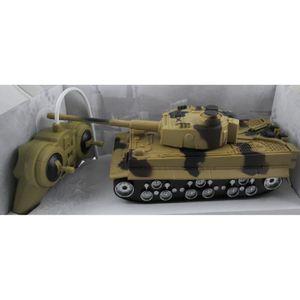 VOITURE - CAMION tank militaire télécommandé