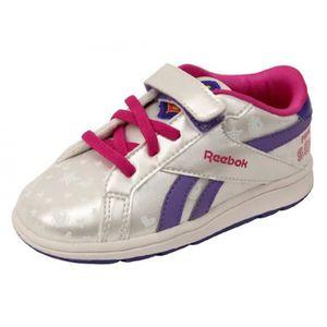 222be59c195cb BASKET SOFIA COURT LOW BB GRI - Chaussures Bébé Fille Ree