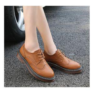 MOCASSIN Chaussures de ville bottine femmes style simple à