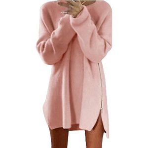 797a6d0aeec9 PULL Tomwell Femme Automne Hiver Pull Robe Casual Manch