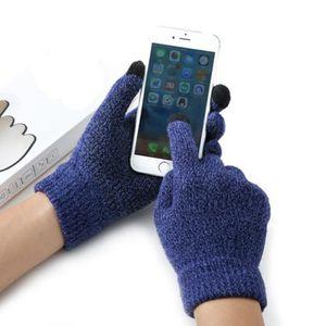 753fb14f4fb GANT - MITAINE Touch Screen Gloves Homme-Femme Hiver Gants pour É ...