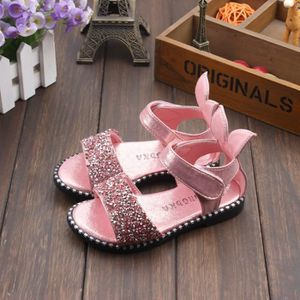 SANDALE - NU-PIEDS Chaussures sandales filles enfants creux croûte ép