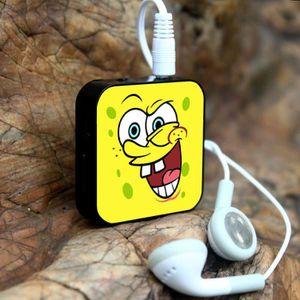 MP3 ENFANT Cartoon SpongeBob SquarePants Mini lecteur MP3 + U