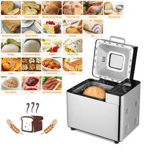 MACHINE À PAIN Homgeek 2lb Machine à pain 22 programmes de cuisso