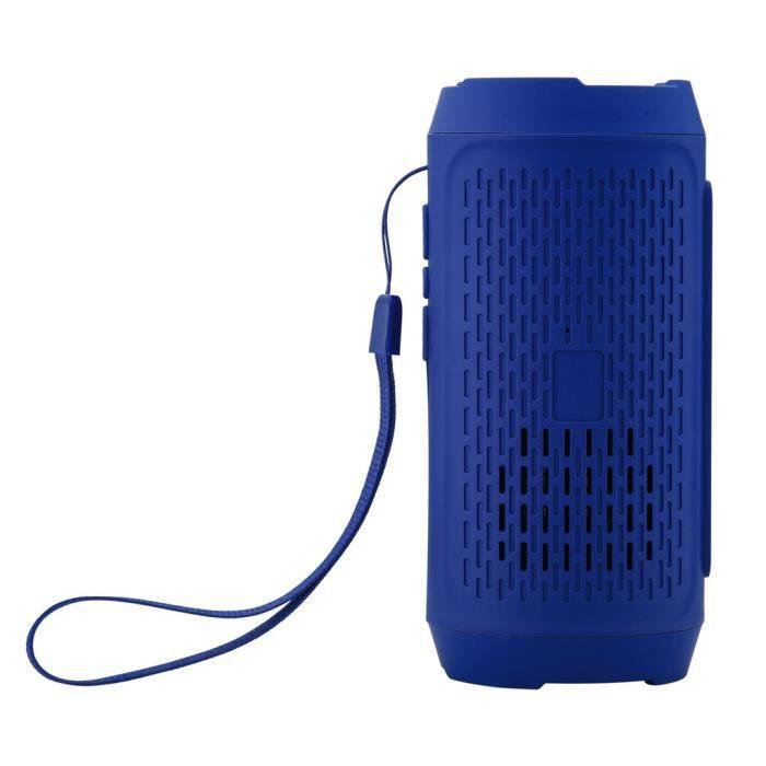 Stéréo Portable Carte Sd Sans Fil Bluetooth Fm Haut-parleur Pour Smartphone Tablet Pc Lly81220105bu_911