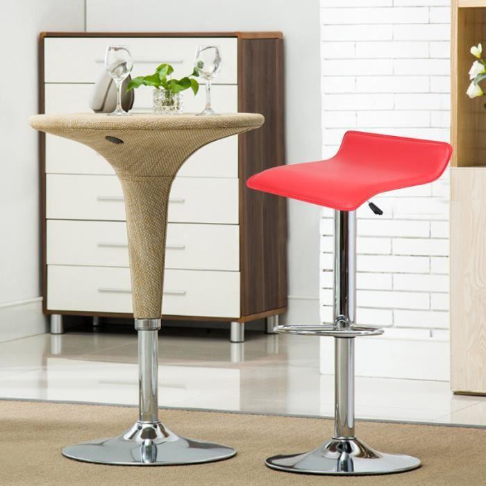 Rouge Set Bar De Xia Tabouret Chaise 2 Maison Achat Pour hrCtdxsQ