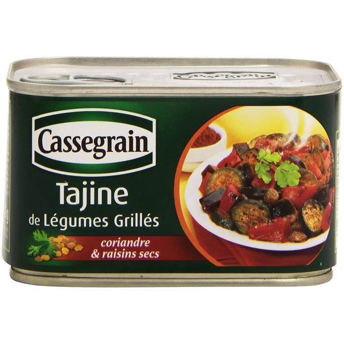 TAJINE Cassegrain de LéGumes Grillés 375 g Tajine