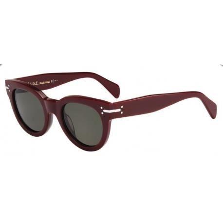 Achetez Lunettes de soleil Céline Femme CL 41040/S LHF (1E) bordeaux