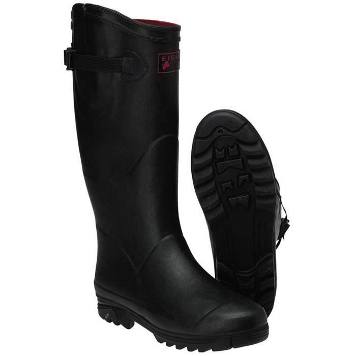 BOTTES HOMME EIGER COMFORT-ZONE RUBBER BOOTS (46)