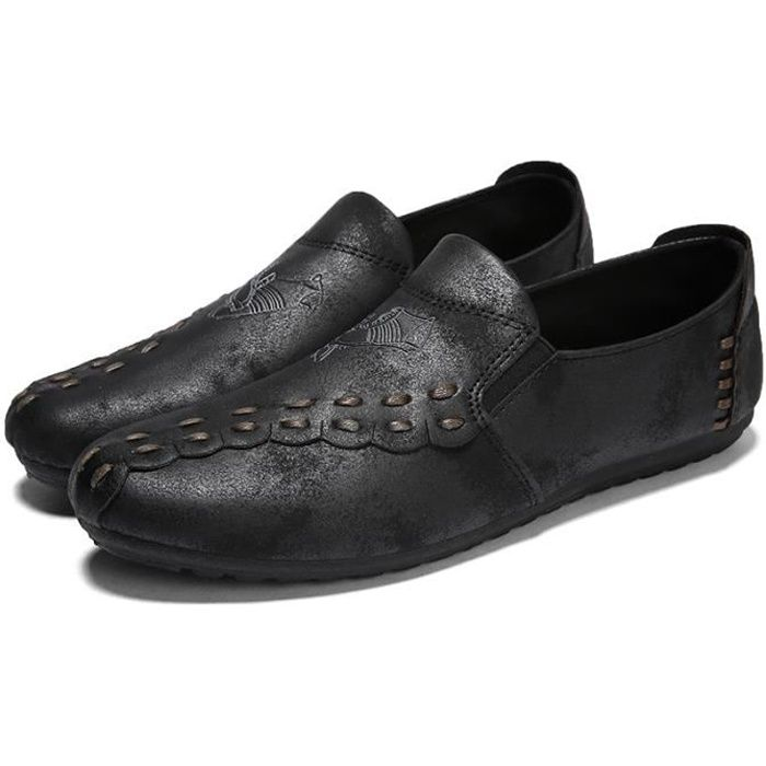 Chaussure Mocassins homme - chaussures cuir homme noir d9DoA5