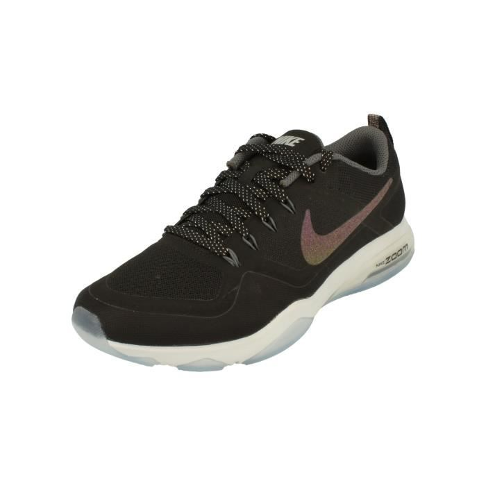 nouveau style dbeb8 665b0 Nike Femme Air Zoom Fitness Metallic Running Trainers 922877 Sneakers  Chaussures 1