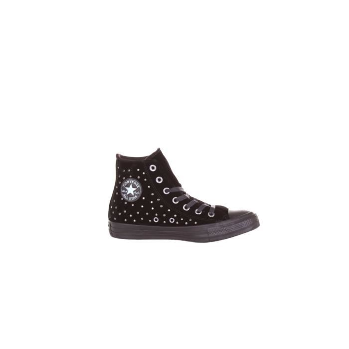 Velours Noir 558991c Baskets Converse Femme Montantes tqa7wfF