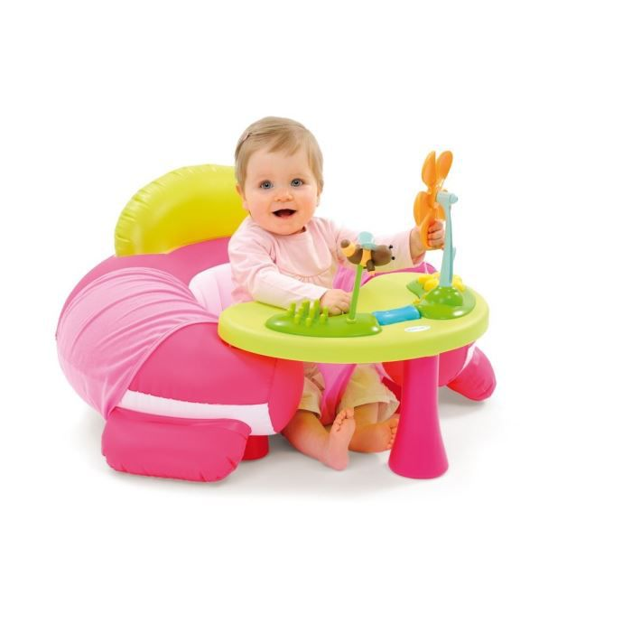 Cotoons si ge evolutif cosy rose achat vente chaise tabouret b b 3606509813447 cdiscount - Siege bebe adaptable chaise ...