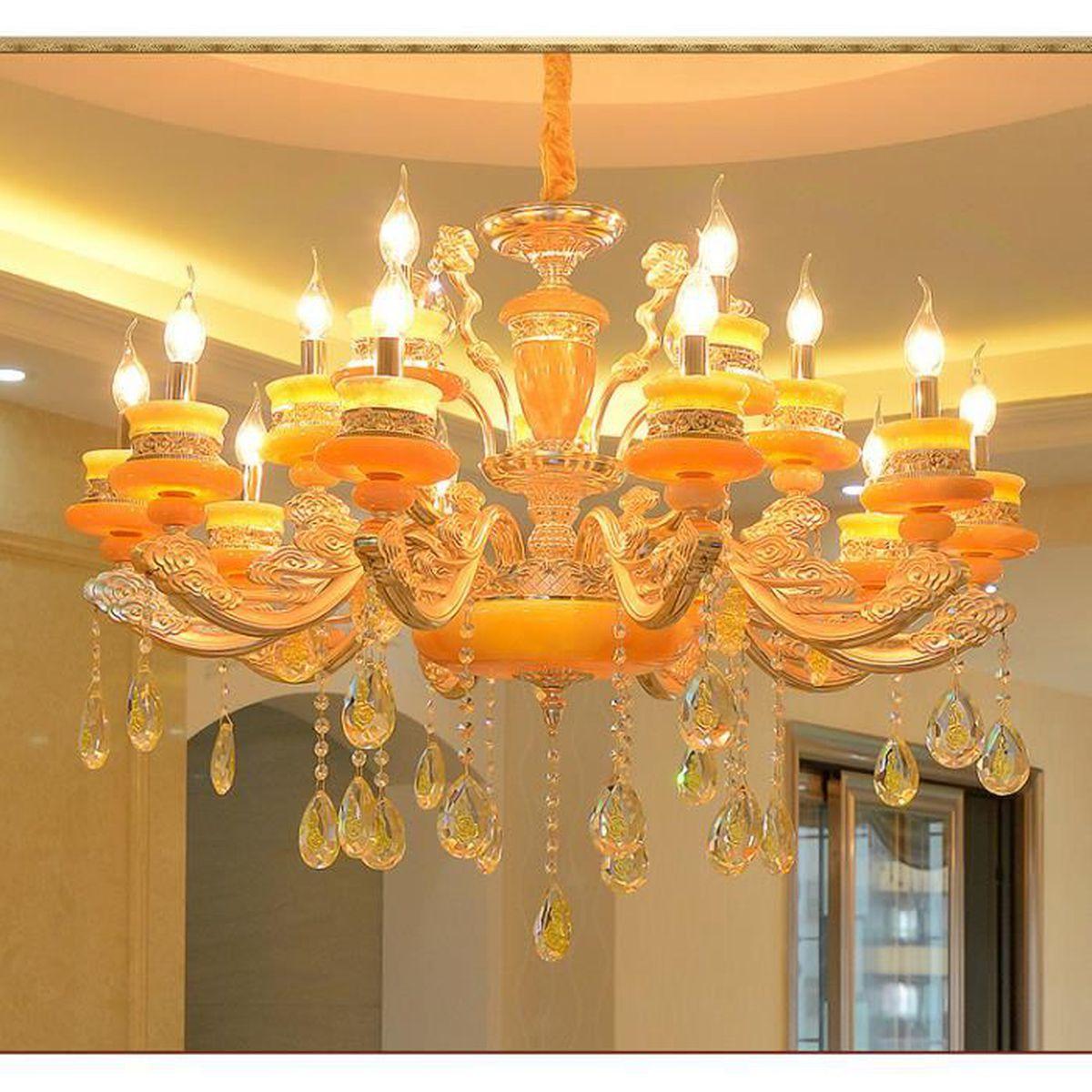 Exbon Vintage Luminaire Plafonnier Industrielle 4 Spots E27 Lampe