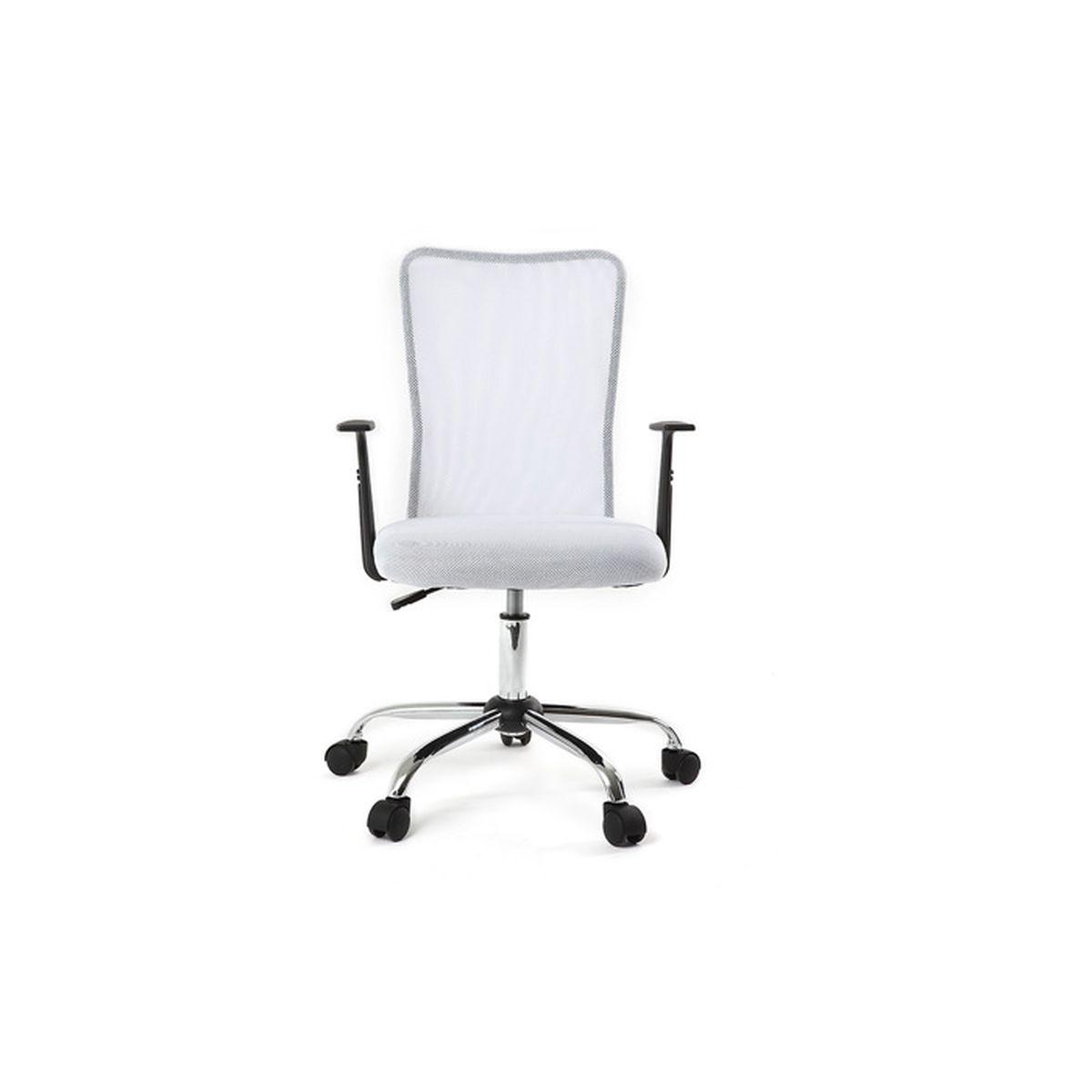 Blanc Fauteuil Achat De Bureau Mesh Vente Pluz Chaise Design sChxdtrQ
