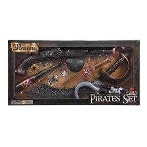 BÂTON - ÉPÉE - BAGUETTE Kit 10 Accessoires de Pirate