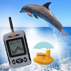 CANNE À PÊCHE Lucky FFW718 Détecteur de Poisson portable sans fi
