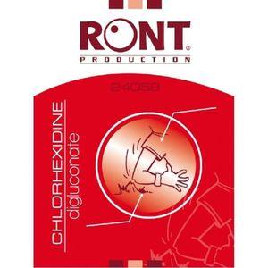GEL HYDROALCOOLIQUE Tampon Chlorhexidine Ront Production, x200