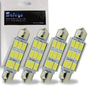 Safego Car Atmosphere Light T10 W5W Lampe LED Contr/ôle Avec Infrarouge Ray Remote 16 Couleurs 6-5050SMD
