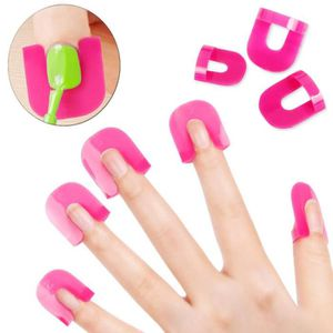 VERNIS A ONGLES 26pcs Curve Clip Anti Débordement Nail Art Stick E