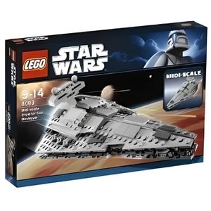 ASSEMBLAGE CONSTRUCTION Lego - 8099 - Star Wars - Vaisseau Imperial Sta…