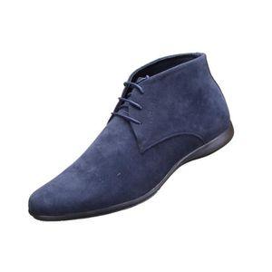 luxe mignonne la plus récente technologie Chaussure Derbies Reservoir Shoes Tarek Bottine... Bleu ...