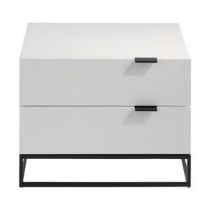 2 tables de chevet laque achat vente pas cher. Black Bedroom Furniture Sets. Home Design Ideas