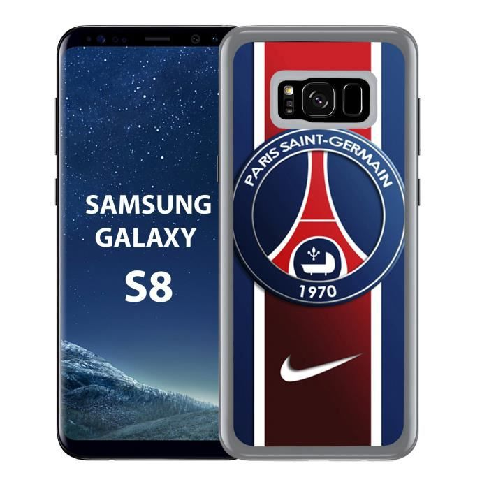 coque samsung galaxy s8 psg nike achat coque bumper. Black Bedroom Furniture Sets. Home Design Ideas