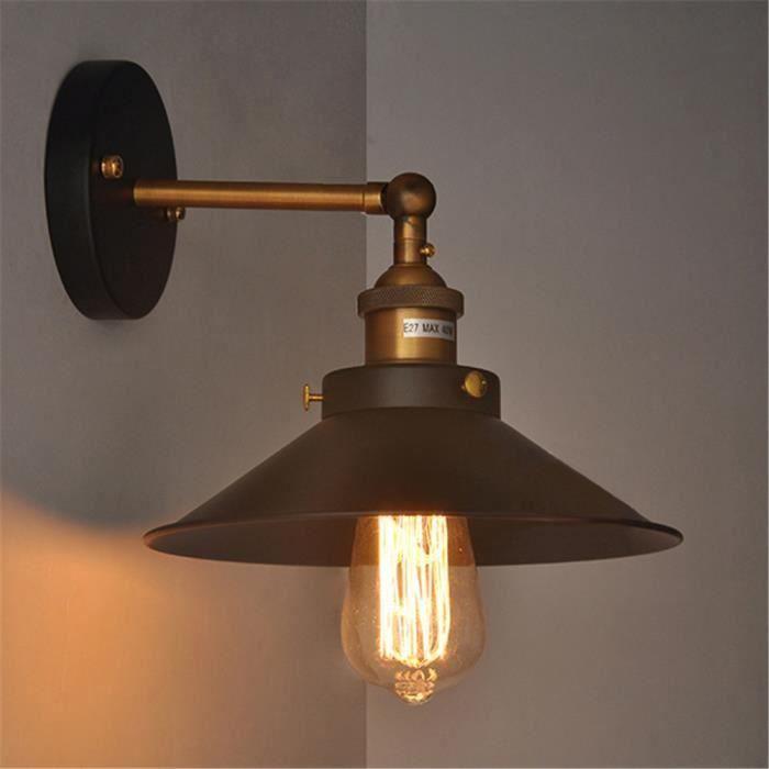 Pour Mur Ajustable Salonrestaurantcuisinechambrebarcafé Murale De Feu Industriel Lampe Rétro Applique Nn0wm8v