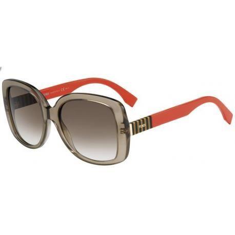 Achetez Lunettes de soleil Fendi Femme FF 0014/S 7TL (DB) corail