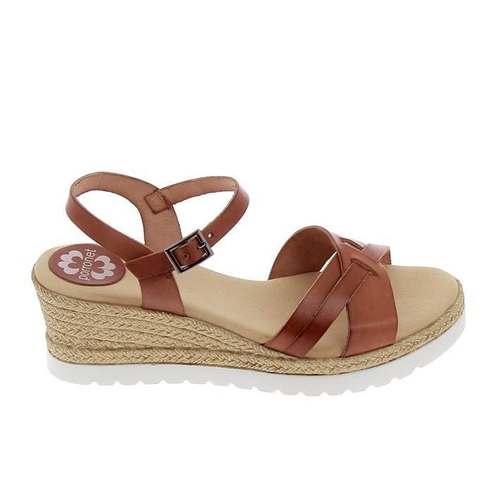 Sandales et nu-pieds Noir en Cuir Porronet - Soldes 6pWzI9lS
