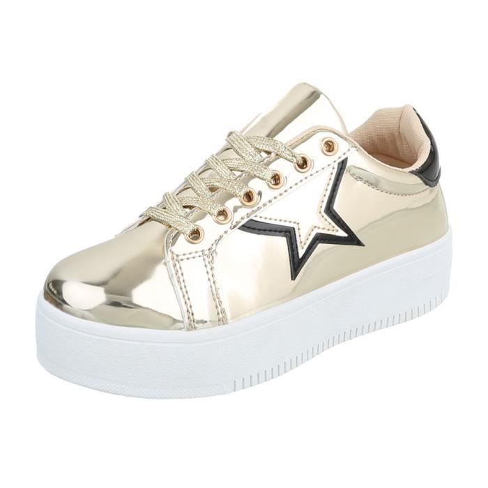 Chaussures femme chaussures sportSneakers or 41
