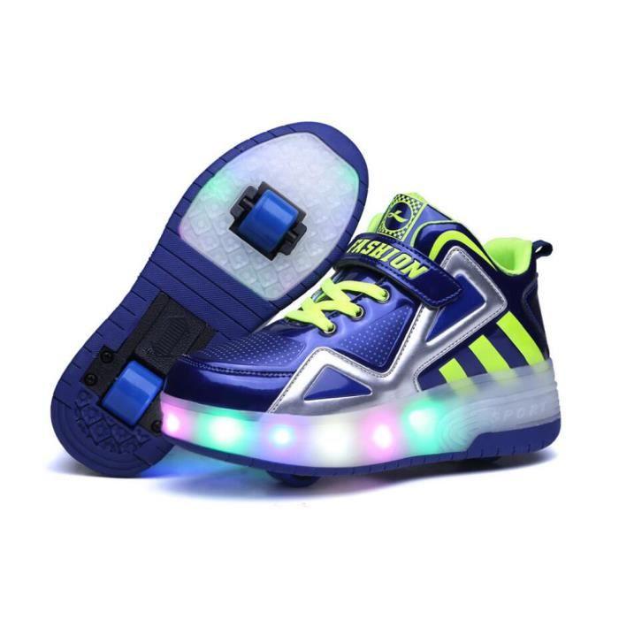 chaussures a roulette enfant achat vente pas cher. Black Bedroom Furniture Sets. Home Design Ideas