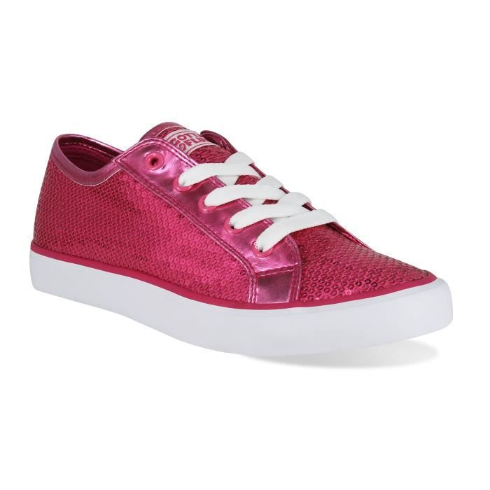 Disco Ii Lace Up Low Top Sneaker XJTIV Taille-38