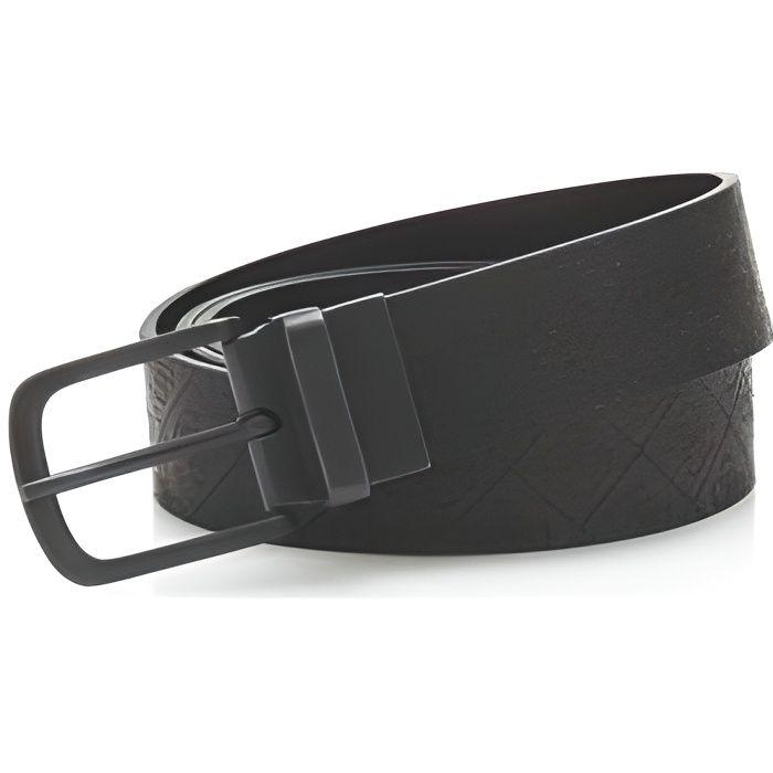 Guess Ceinture Homme en Cuir Logo Reversible M81Z19 Noir Noir Noir ... 6e83d3a6d98