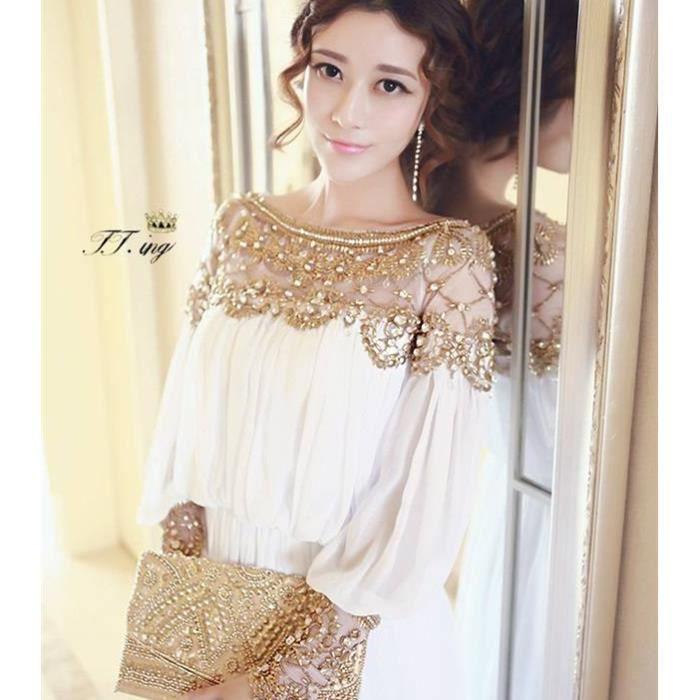 photos officielles 5b3f6 376c2 les femmes en robe de soirée en mousseline chic dubaï(S)