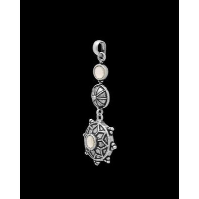 traditionnel des femmes en alliage avec oxydées en argent plaqué Faux Pendentifs Pierre Saint-Valentin cadeau pourSFNEA
