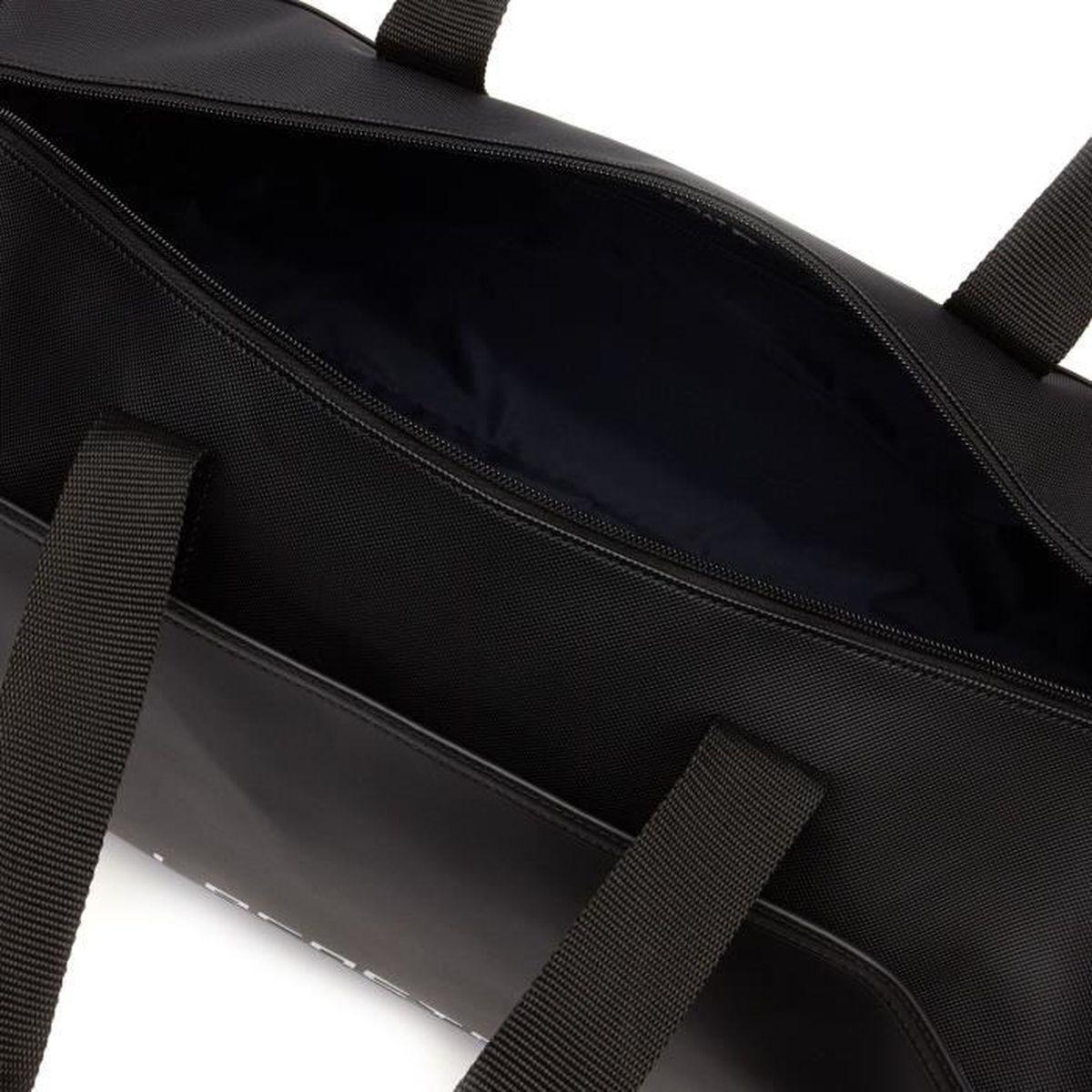 0478ba267f Sac Polochon Lacoste SPORT Ultimum Lacoste - NH2353UT - Noir Noir Noir -  Achat / Vente sacoche 3700944573369 - Cdiscount