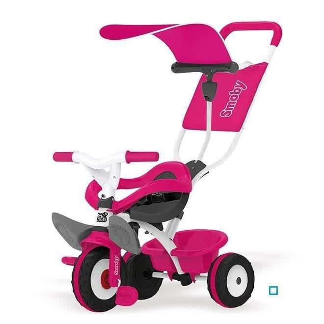 destockage smoby tricycle baby balade rose tricycle au. Black Bedroom Furniture Sets. Home Design Ideas