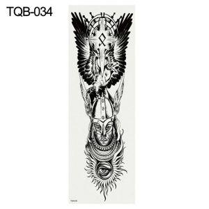 2ad998a16839 Plein bras temporaire Faux Tatouage Hommes Femmes Corps Art Décalque  Autocollant De Transfert De L