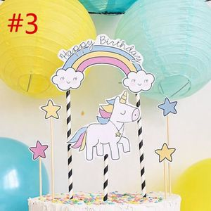 Deco anniversaire licorne achat vente pas cher - Decoration gateau anniversaire enfant ...