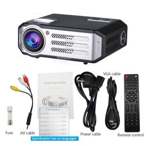 Vidéoprojecteur Projecteur LED 1080p RD817, Bluetooth WIFI Android